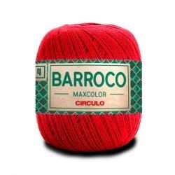 Barroco 4 Maxcolor 3402 - Vermelho Circulo